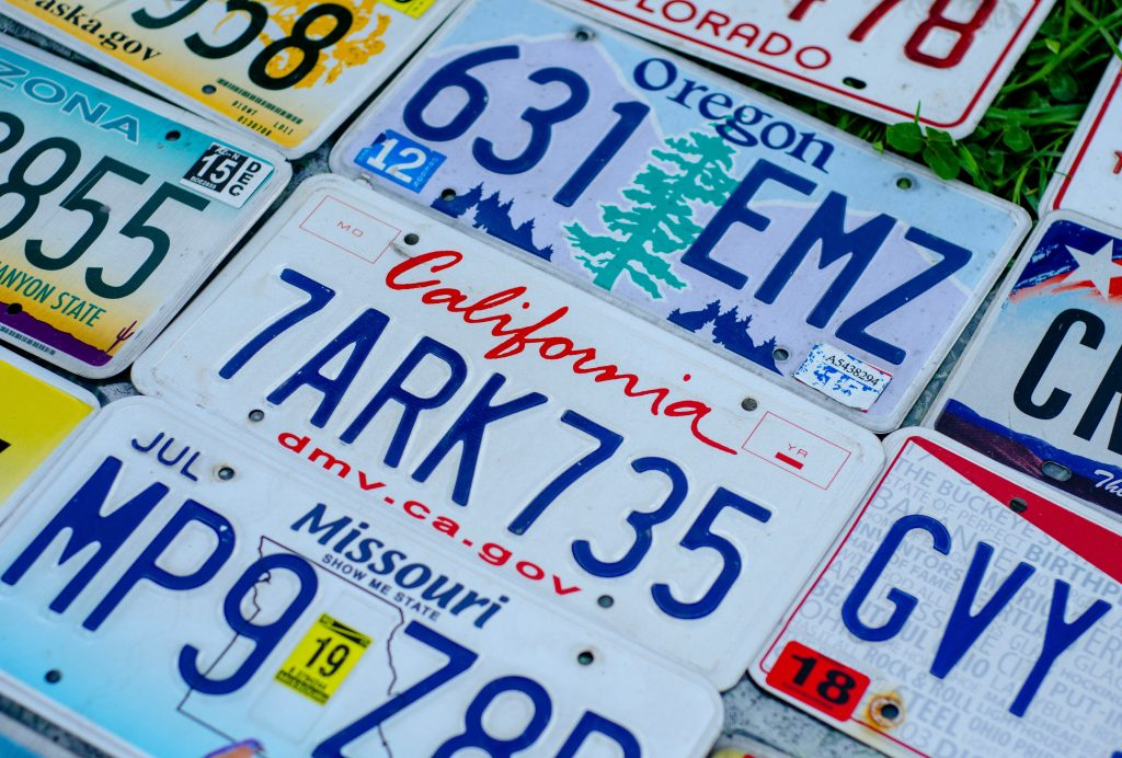 California No License Plate Laws | Driving Without License